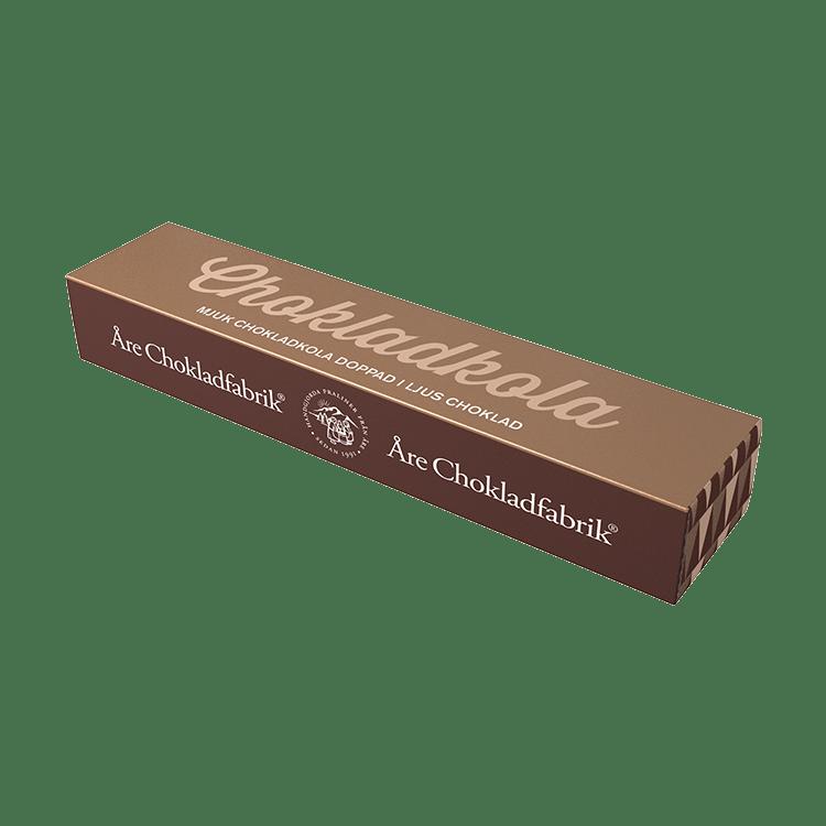 Chokladkola ljus liten ask