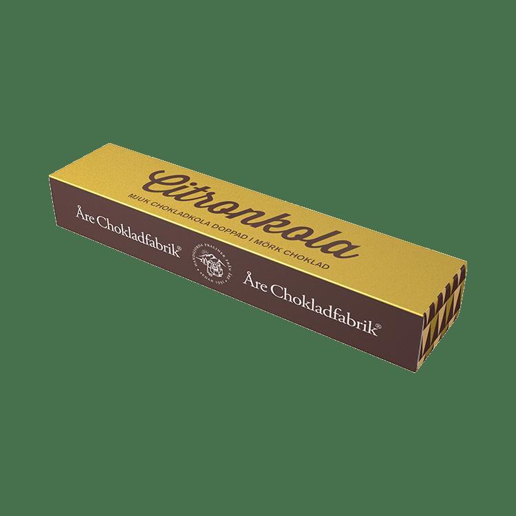 Citronchokladkola liten ask