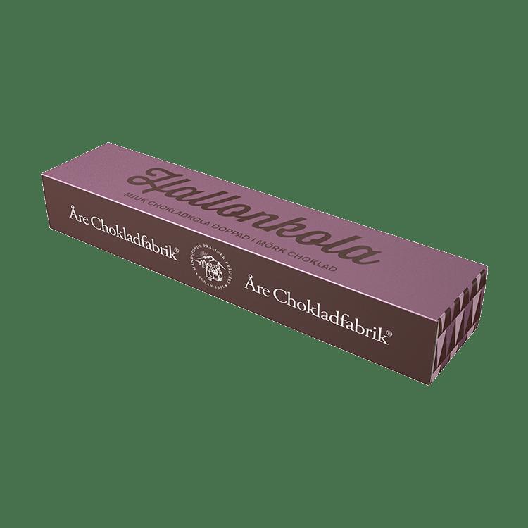 Hallonchokladkola liten ask