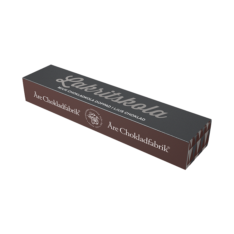 Lakritschokladkola liten ask