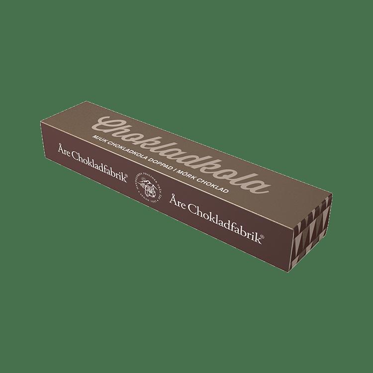 Chokladkola mörk liten ask