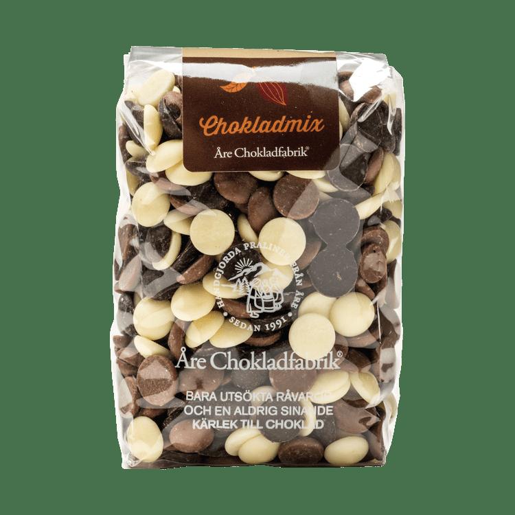 Chokladmixpluppar mellan