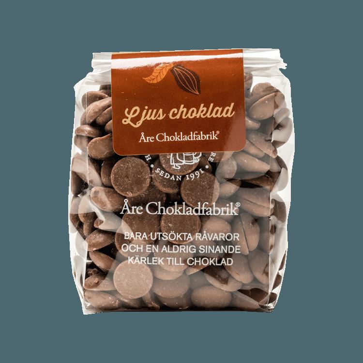 Chokladpluppar ljus liten