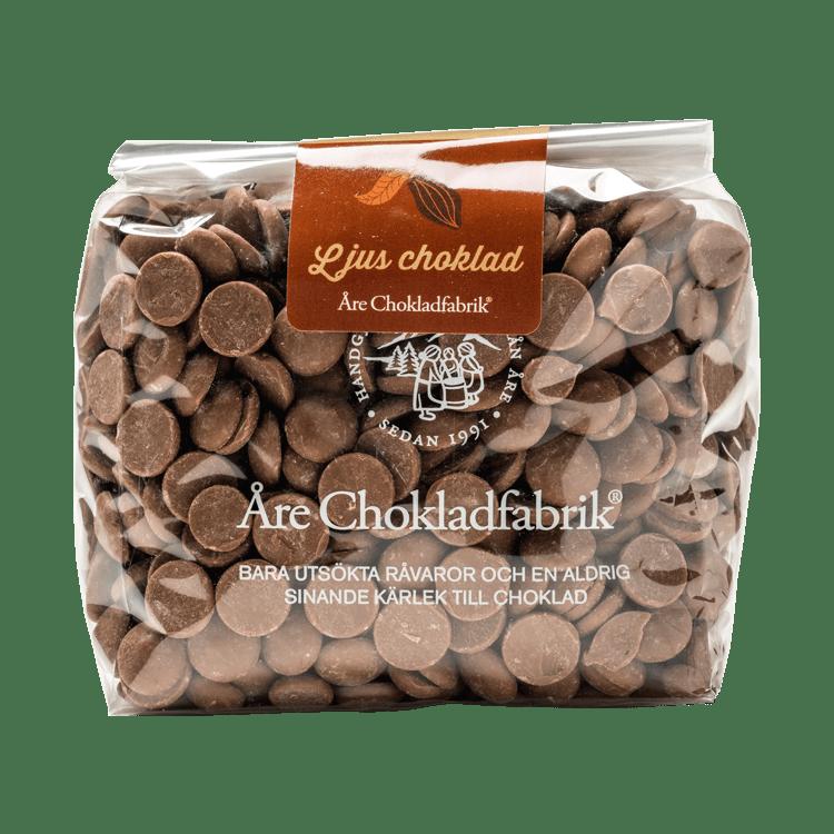 Chokladpluppar ljus stor