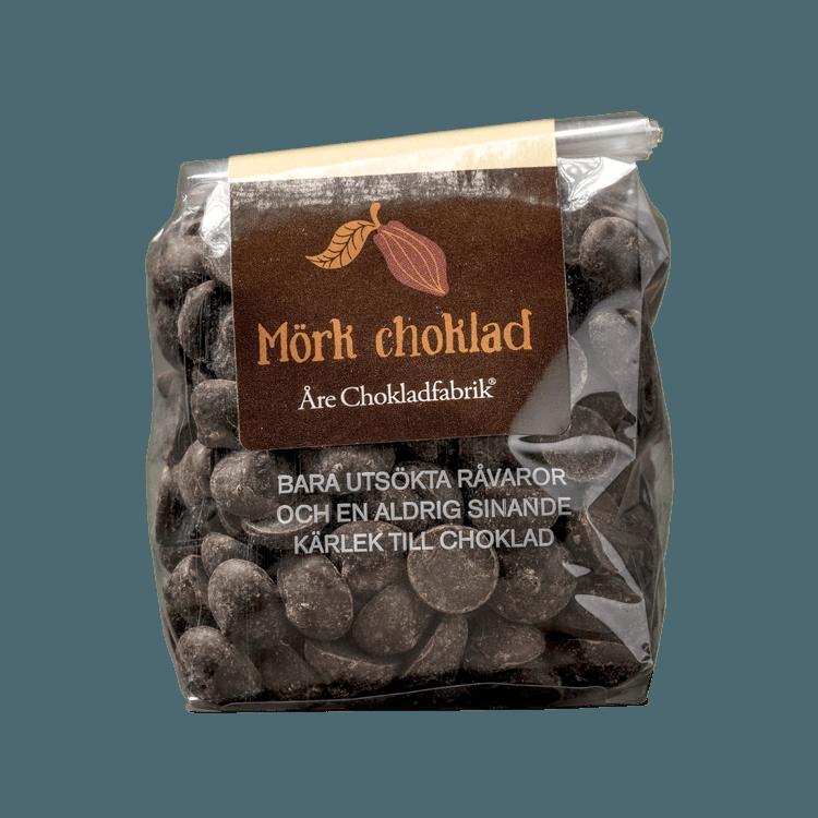 Chokladpluppar mörk liten