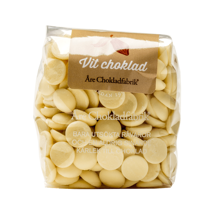 Chokladpluppar vit liten