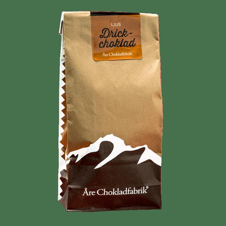 Drickchoklad ljus